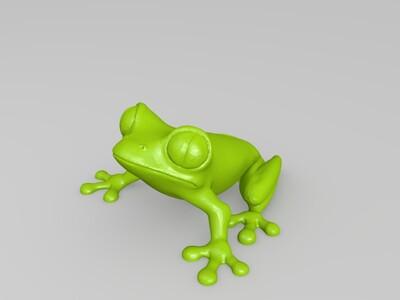 树蛙-3d打印模型