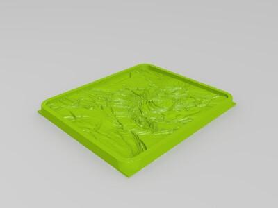 劫  合金装备亚索  猩红之月锤石-3d打印模型