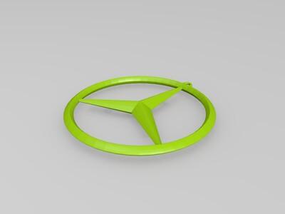 奔驰精品钥匙挂件-3d打印模型