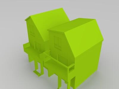 室外-3d打印模型