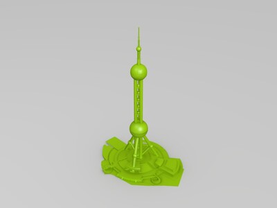 上海陆家嘴——东方明珠-3d打印模型