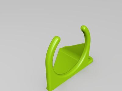 吹风机支架-3d打印模型