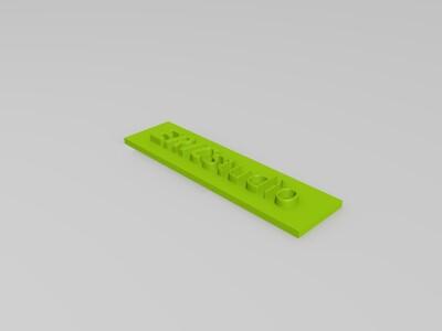 ERIC studio LOGO-3d打印模型