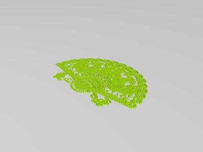 春联8A-窗花-3d打印模型