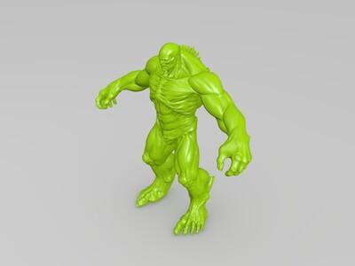 绿巨人电影中的反派-3d打印模型