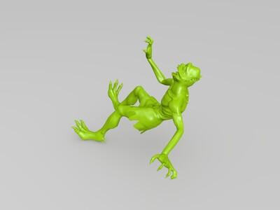 将被斩杀的小鬼-3d打印模型