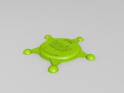 警长徽章-3d打印模型