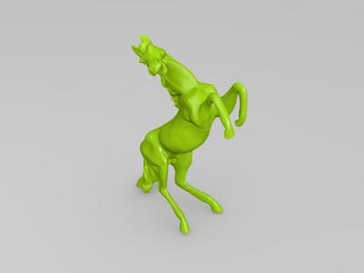 奔马-3d打印模型