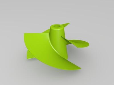 高效螺旋桨-3d打印模型