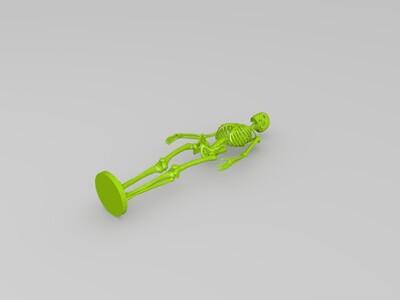 人体骨架复刻-3d打印模型