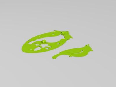 旋转树-3d打印模型