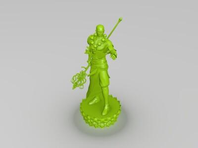 唐僧(斗战神圣僧)-3d打印模型