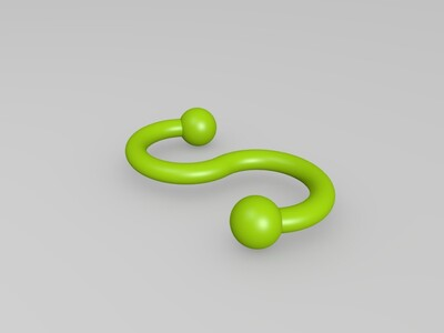 鈎子-3d打印模型