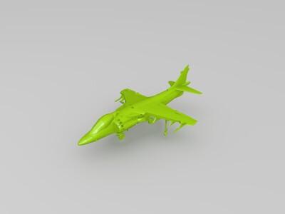 战斗机-3d打印模型
