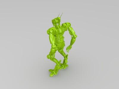 可打印的机器人-3d打印模型