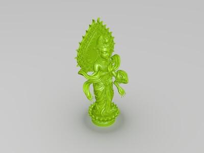 菩萨(佛)-3d打印模型