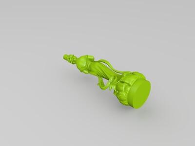 仙女带支撑-3d打印模型