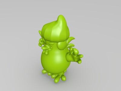特朗普鸡-3d打印模型