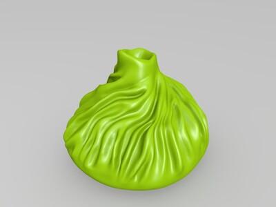 蟹黄汤包-3d打印模型