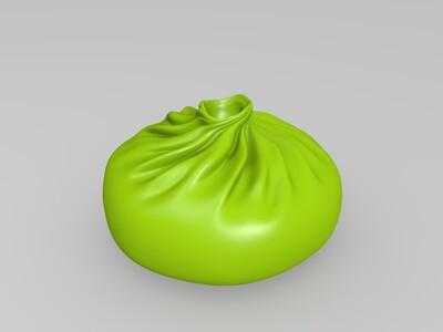 包子-3d打印模型