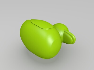 小鸭子-3d打印模型