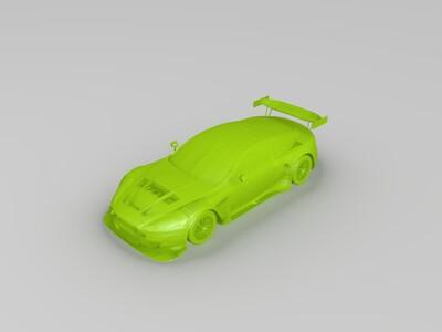 阿斯顿马丁跑车车模-3d打印模型