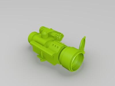 瞄准镜-3d打印模型