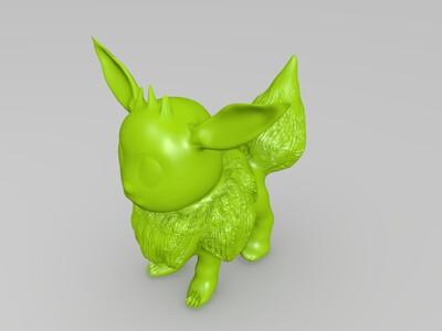 pokemon 伊布-3d打印模型