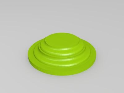 低多边形马 晶格版-3d打印模型