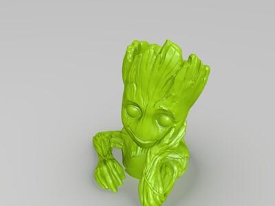 树人的女儿-3d打印模型