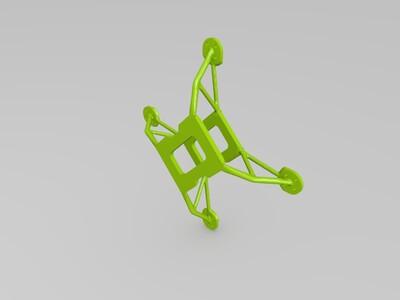 3d打印四轴支架-3d打印模型