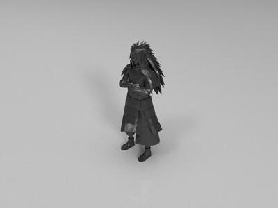 火影忍者-斑-3d打印模型