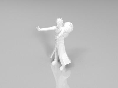 火影忍者-我爱罗-3d打印模型