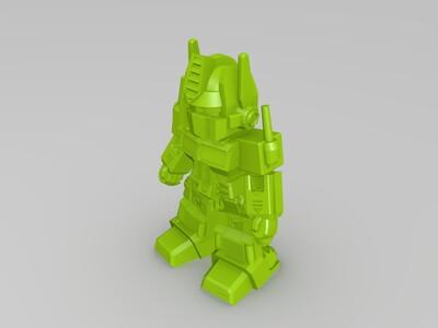 擎天柱-3d打印模型