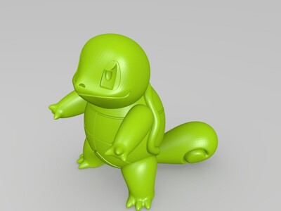 squirtle-3d打印模型