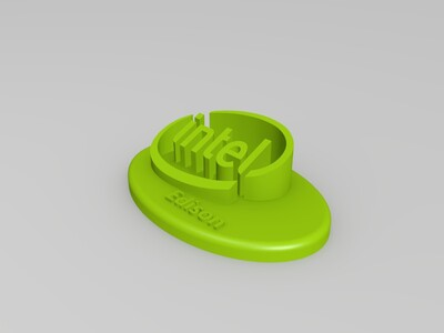 intel-Edison 灯,等灯等灯!-3d打印模型