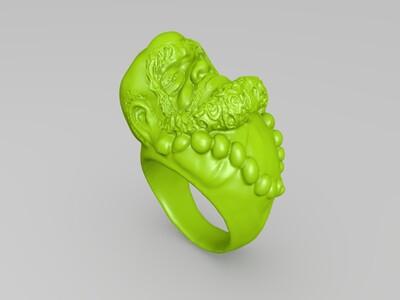 达摩戒指-3d打印模型