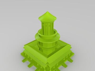 万象神庙-3d打印模型