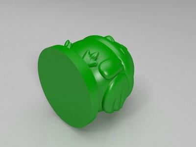 小胖鸡-3d打印模型