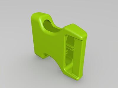 公母方便扣-3d打印模型