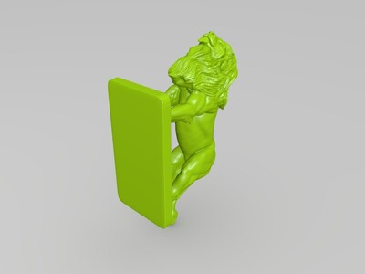 极品雄狮-3d打印模型