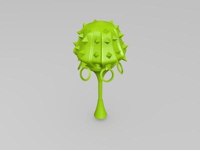 李元霸——大唐无双-3d打印模型