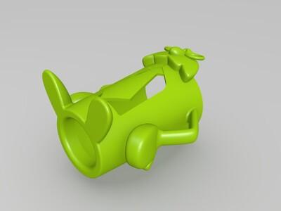 猫头鹰先生杯套-3d打印模型