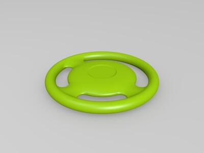 方向盘-3d打印模型
