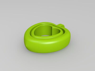心心相印挂件-3d打印模型