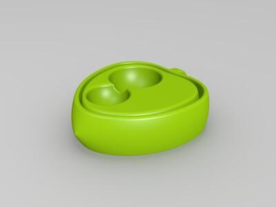 双心挂件-3d打印模型