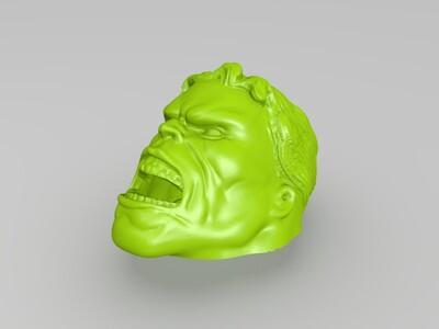 绿巨人储物盒-3d打印模型