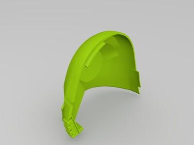 容易打印的星球大战主角面罩-3d打印模型
