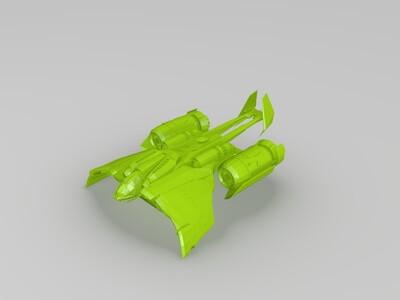 星际争霸人族 医疗运输机-3d打印模型