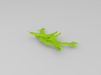 女妖空母-3d打印模型